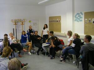 Die Seminargruppe Fit für die Vielfalt 2018 (Foto: Integration durch Sport Sachsen)
