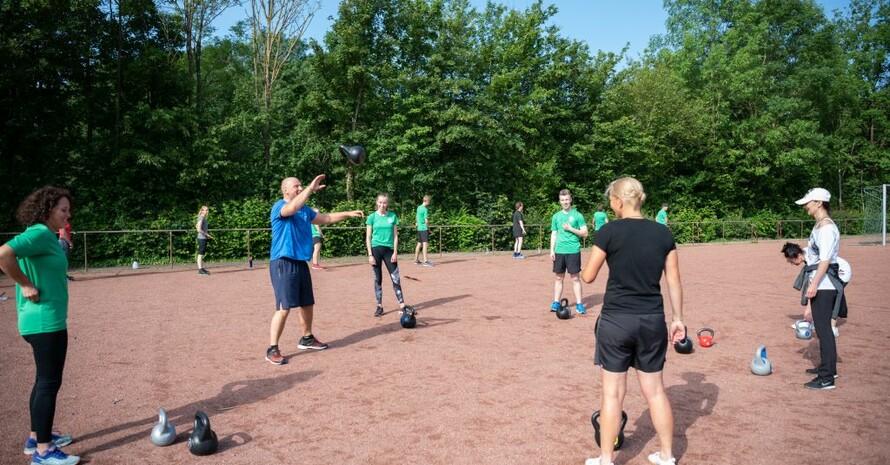 Sport mit Abstand und draußen, so können Vereine auch in der Corona-Krise trainieren. Foto: LSB NRW