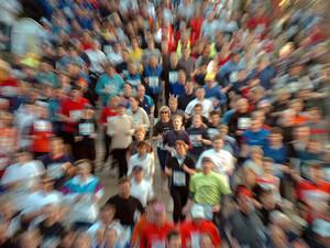 Rund zwei Millionen Menschen nehmen jährlich an Volksläufen in Deutschland teil. Copyright: picture-alliance/dpa