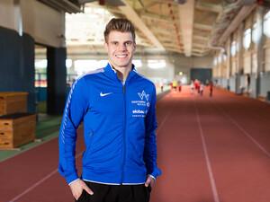 Sprinter Julian Reus unterstützt die Kampagne als Schirmherr. Foto: Jens Nieth