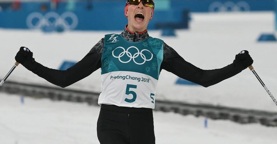 Unwiderstehliche Aufholjagd: Eric Frenzels Sturmlauf zum Gold war kein Gegner gewachsen (Foto: Picture Alliance)