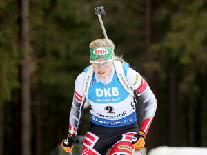 Biathletin Lisa Theresa Hauser verhielt sich im Wettkampf außerordentlich fair. Foto: picture-alliance