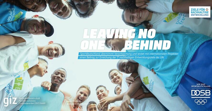 Sport fördert Team und Gemeinschaftsgeist. Foto: DOSB/GIZ