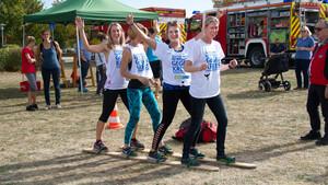Auch der Spaß kommt nicht zu kurz, wenn mehrere sich gemeinsam aktiv bewegen. Foto: Meckenheimer Sportverein/DOSB