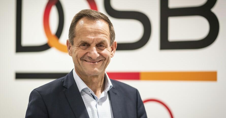 DOSB-Präsident Alfons Hörmann lobt SMK-Beschluss. Foto: picture-alliance