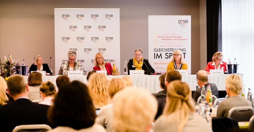 Die DOSB-Frauenvollversammlung 2019 fand in leipzig statt. Foto: DOSB/bewahrediezeit.de