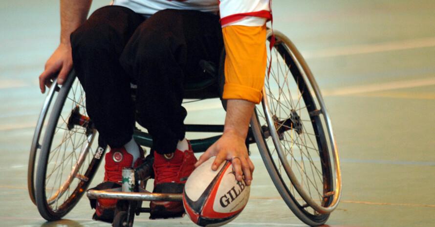 In deutschen Lottoannahmestellen wird bis Februar 2009 für den Behindertensport gesammelt. Copyright: picture-alliance
