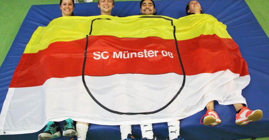 Mit diesem Foto von Mitgliedern des SC Münster 08 gelang Oliver Janke der 1. Preis in der Kategorie Vereinsleben.