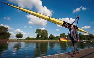 Rudern Duale Karriere Karriere Florian Menningen dpa