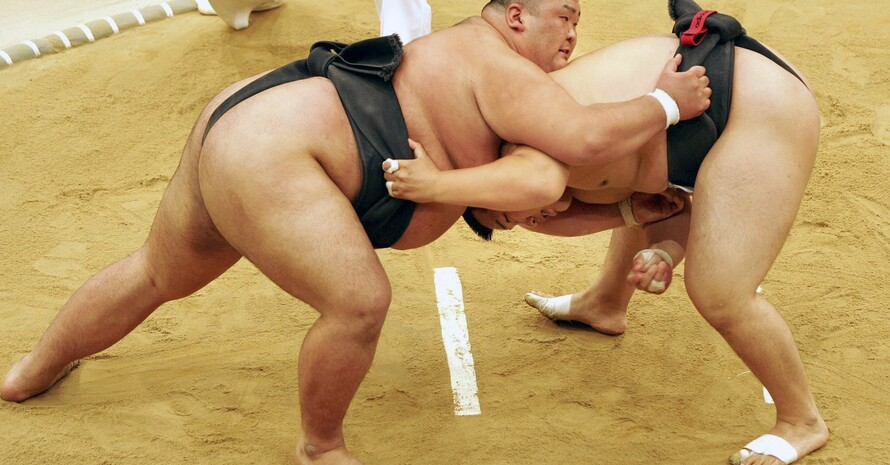 Zum Sportprogramm der World Games 2022 in Birmingham zählt auch wieder Sumo. Foto: picture-alliance
