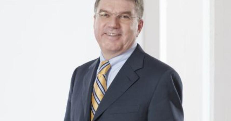 """DOSB-Präsident Thomas Bach: """"Computerspiele können nie den richtigen Sport ersetzen"""". Copyright: DOSB"""