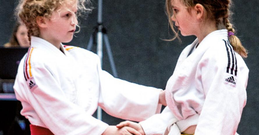 Bereits Kinder lernen im Sport Fairness und den Respekt vor dem Gegner. Foto: DOSB / Jens Erbstößer