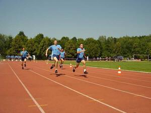 """""""Großer Sport"""" beim Sportabzeichentag in Schwandorf."""