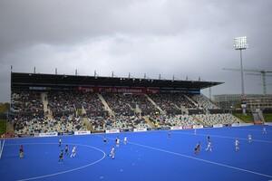 Am 3. Nov. 2019 fand in Mönchengladbach das Spiel Deutschland (GER) - Italien (ITA) im Rahmen der Hockey Olympia Qualifikation der Frauen statt. Foto: picture-alliance