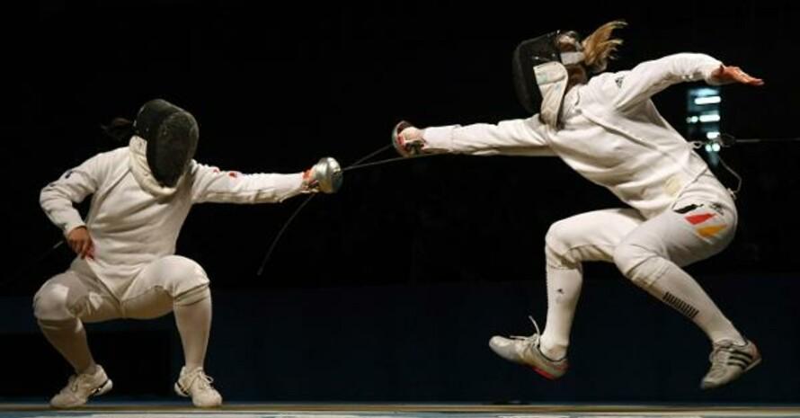 Treffer: Britta Heidemann gewinnt Gold in Peking