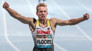 Johannes Floors bei den Para-Leichtathletik-Weltmeisterschaften in Dubai. Foto: picture-alliance