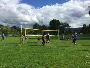 Volleyball in Lohr. Foto: Kreß/IDS