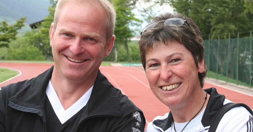 Stephan Waldner und seine Frau Ida (Quelle: Waldner)