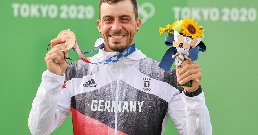 In Rio war es Silber, in Tokio freut sich der Augsburger Sideris Tasiadis aber auch über die Bronzemedaille. Foto: picture-alliance