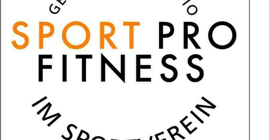 Das Qualitätssiegel SPORT PRO FITNESS zeichnet vereinseigene Fitness-Studios aus!