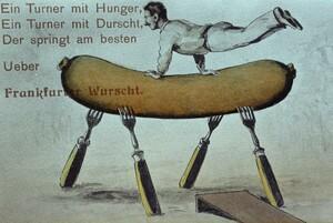 Deutsche Turnfeste haben in Frankfurt am Main Tradition. Copyright: picture-alliance