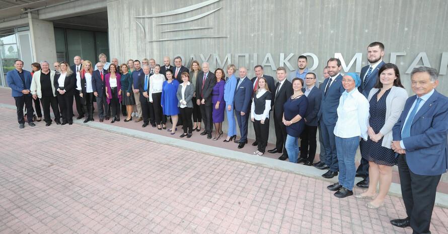 Die Teilnehmer*innen der Genralversammlung und Konferenz in Nikosia. Foto: EOA