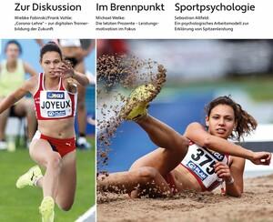 Die aktuelle Ausgabe der Zeitschrift Leistungssport Copyright: philippka-verlag