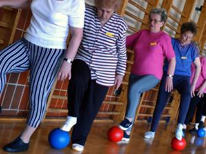 In Schleswig-Holstein gibt es ein landesweites Netzwerk für den Senioren- und Gesundheitssport. Foto: picture-alliance