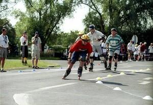 "Specials Olympics hat das Programm ""Healthy Athletes"" entwickelt."