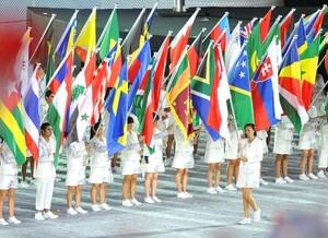 Eröffnungsfeier der Olympischen Jugendspiele Singapur 2010