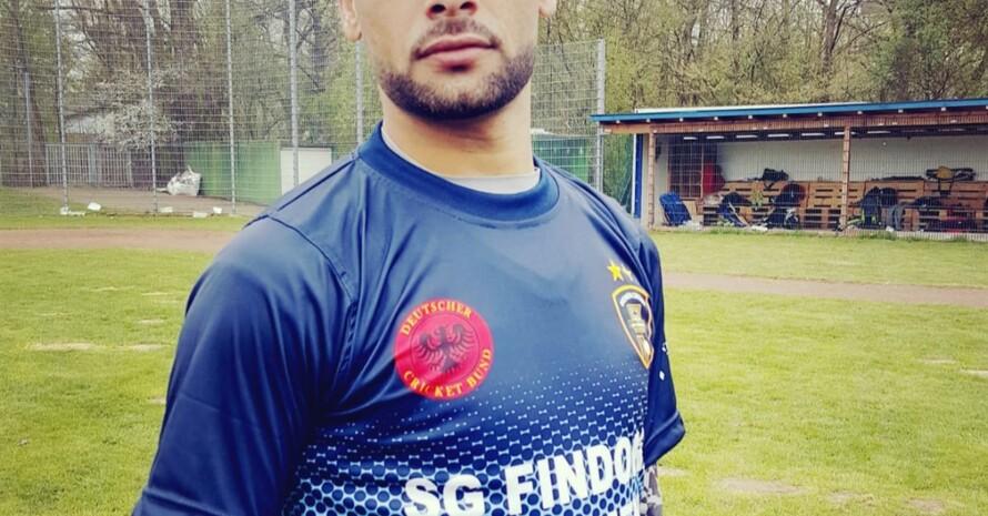 Aziz auf der Bezirkssportanlage bei der SG Findorff
