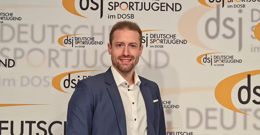 Michael Leyendecker ist der neue 1. Vorsitzende der Deutschen Sportjugend. Foto: dsj