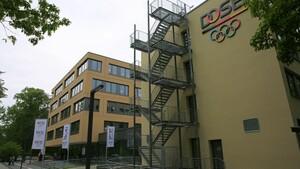 Die Geschäftsstelle des DOSB in Frankfurt am Main. Foto: DOSB