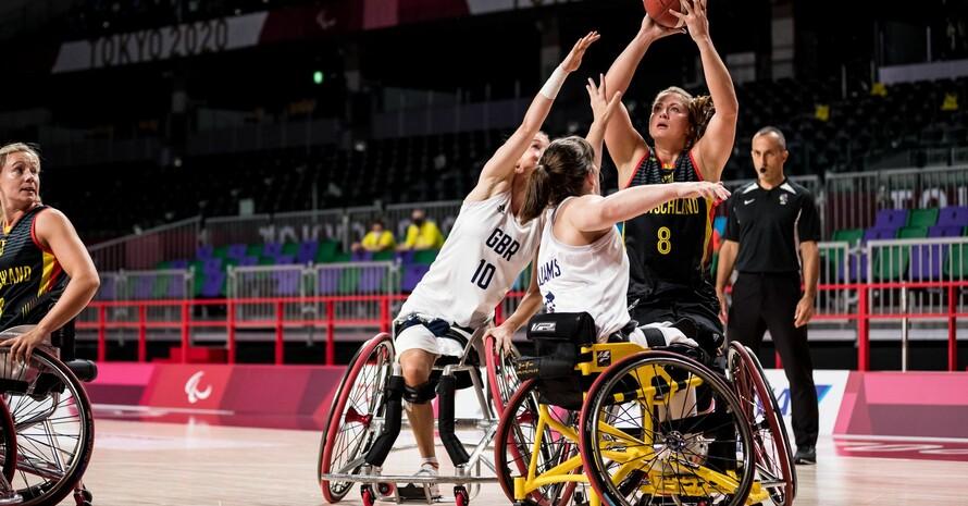 Die deutschen Damen haben gegen Großbritannien  ihre Stärken ausgespielt. Foto: Steffi Wunderl/DBS