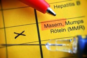 Die Eintragung im Impfpass gilt als Nachweis für den Schutz gegen Masern. Foto: picture-alliance