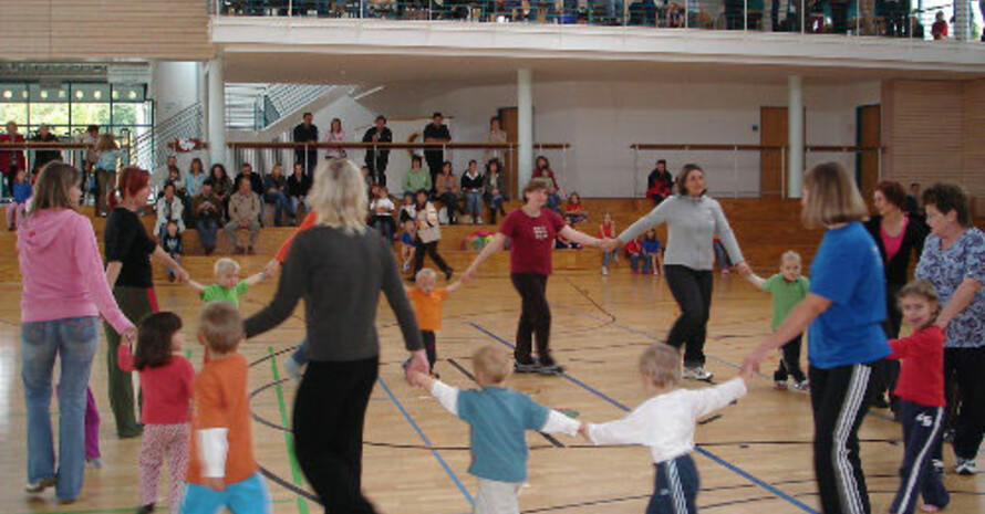 Kinderfitnesstag beim TV Bitz. Copyright: TV Bitz