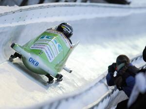 In Königssee trifft sich die Weltelite des Bobsports auf der ersten Kunsteisbahn. Foto: picture-alliance