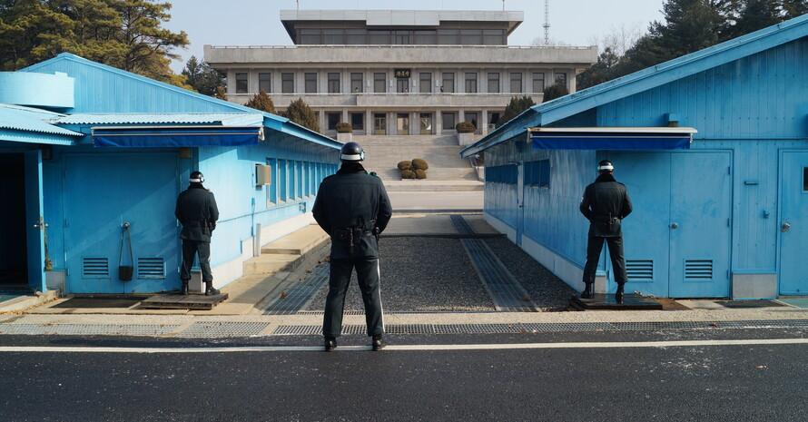 Die blauen Barracken in der DMZ - Die Brücke zwischen Nord- und Südkorea. (Foto: DOA)