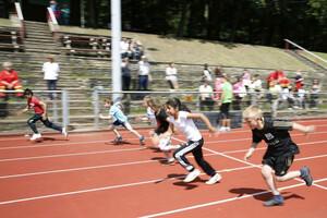 Der Leistungsgedanke ist schulischer Alltag und gehört auch zum Sport. Foto: LSB NRW