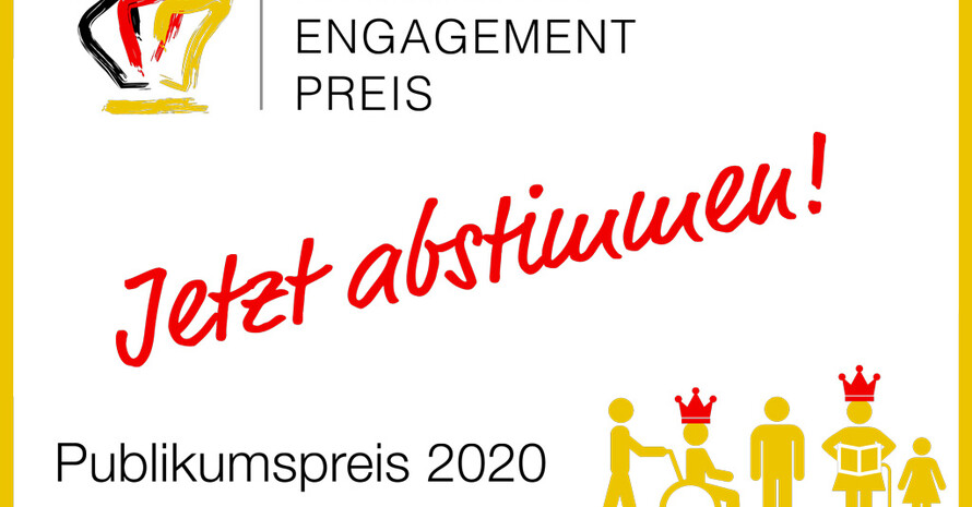 Grafik: Deutscher Engagementpreis