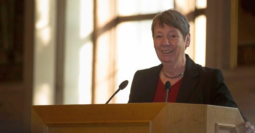 Bundesumweltministerin Barbara Hendricks; Foto: DOSB/Chris Christes