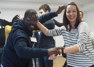Afrikanische Jugendgruppen suchen Partner für die Durchführung von Begegnungsprojekten. Foto: dsj
