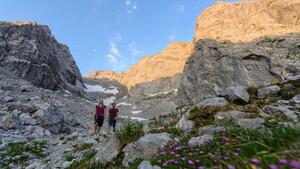 Die Alpen liegen im Zentrum Europas und werden intensiv genutzt. Foto: DAV/Wolfgang Ehn