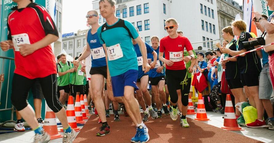 Die Special Olympics Athletinnen und Athleten freuen sich auf Nationale Sommerspiele inmitten der Stadt. Foto: SOD/Jörg Brüggemann OSTKREUZ