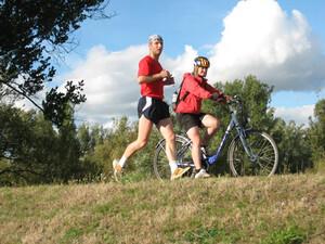4.000 km legen die Läufer bei der Lauf-KulTour zurück. Foto: Lauf-KulTour