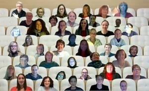 Die offene Sitzung fand digital statt. Foto: DOSB