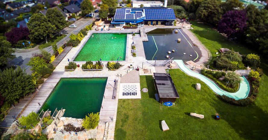 """In der Kategorie """"Freibad"""" war das Naturerlebnisbad Luthe in Wunstorf siegreich. Foto: NaturErlebnisBad Luthe eG"""