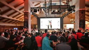 Immer gut besucht: Das Deutsche Haus in PyeongChang. Foto: picture-alliance