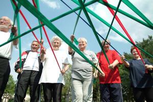 Sport kann Menschen mit Demenz ein Stück Lebensqualität zurückgeben. Foto: LSB NRW