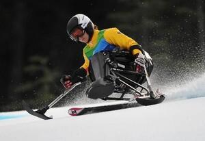 Anna Schaffelhuber fährt im Super G Wettbewerb bei den Paralympics 2010 in Whistler, Kanada zur Bronzemedaille. Beim Fest der Begegnung der Deutschen Sporthilfe (15.10.2010) wurde sie als Juniorsportlerin 2010 geehrt. Copyright: picture-alliance